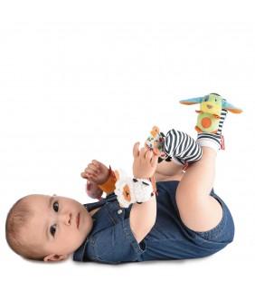 Sonajero pies y muñecas Farm NIKIDOM