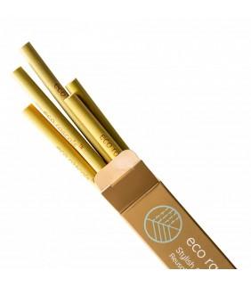Pack 5 pajitas bamboo ECO Rascals
