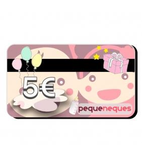 Tarjeta regalo 5€