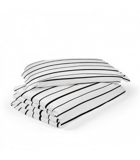 Funda nórdica cuna 70x140 Lines blanco ROS