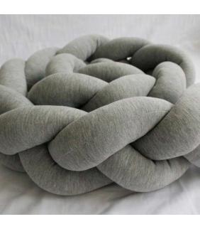Trenza algodón protector de cuna Maminébaba