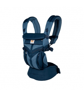 Mochila ErgoBaby Omni 360 Cool Air Mesh - Tones of Blue