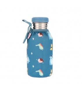 Botella de acero con funda 500ml Little Monsters Tutete